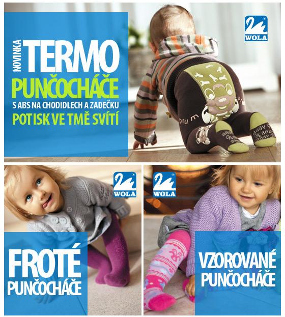 WOLA.CZ - dětské punčocháče a ponožky a7df0161cd